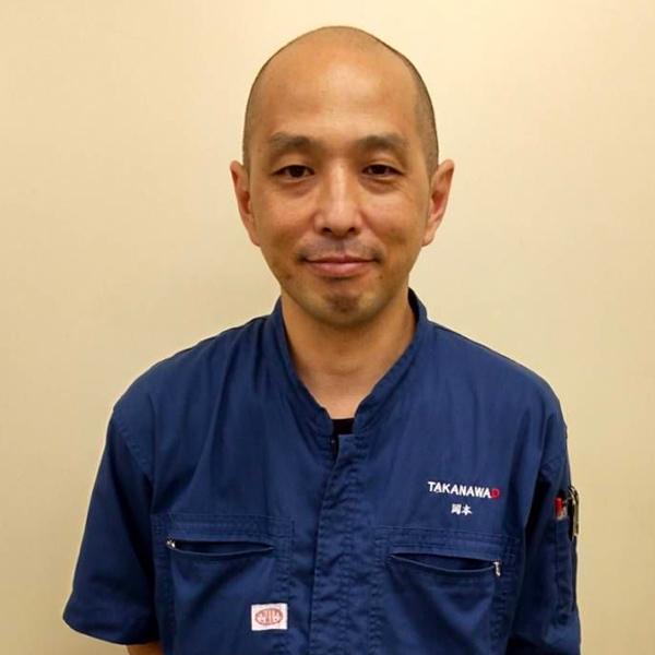 高輪ヂーゼル株式会社 工場長 岡本 様